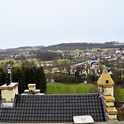 view from tower of castle hotel geulzicht |www.castlehotelholland.eu
